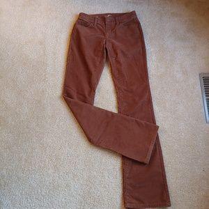 Ann Taylor LOFT brown corduroy pants
